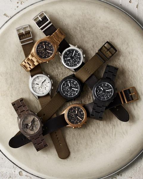 AllSaints' inaugural watch collection features 20 models