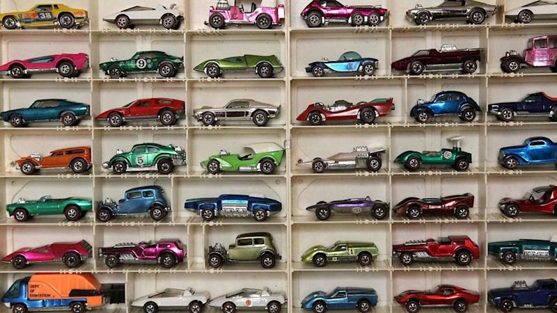 Check Out This Man's 500-Car Vintage Hot Wheels Collection