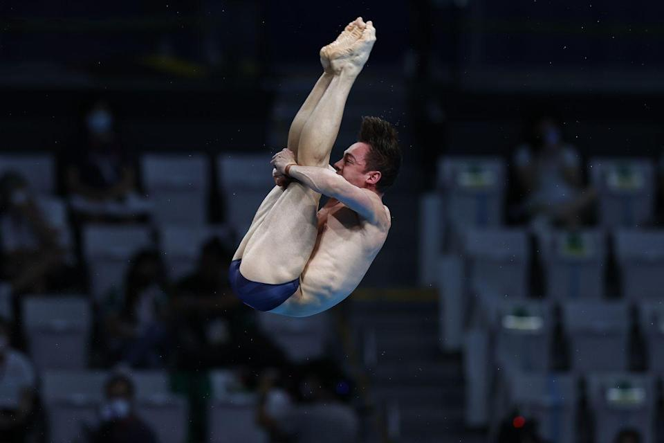 <p>Tom Daley is officially the first Team GB diver to win four Olympic medals. He took home gold in the 10m synchronised dive alongside Matty Lee, as well as three bronzes.</p>