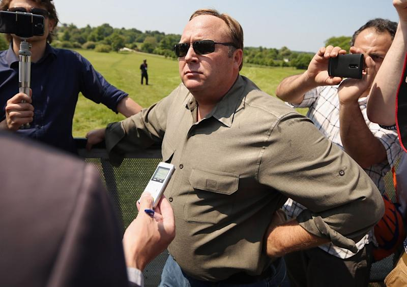 Conspiracy Theorist Alex Jones Booted From YouTube, Other Online Services
