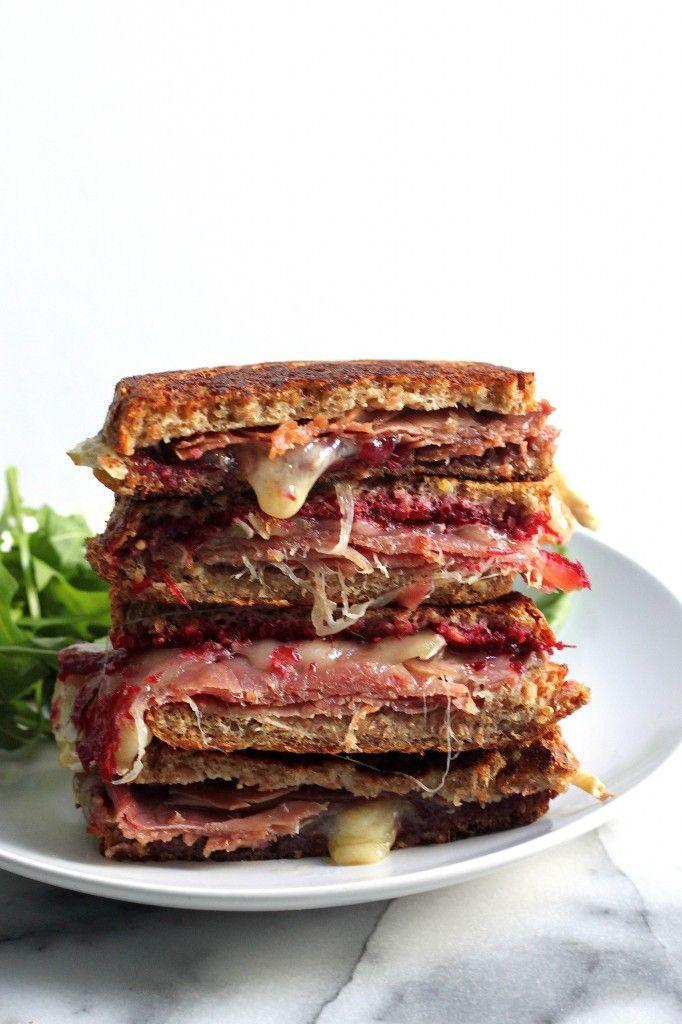 """<p>See, grilled cheese can be fancy if it wants to.</p><p>Get the recipe from <a href=""""http://bakerbynature.com/cranberry-brie-and-prosciutto-grilled-cheese/"""" rel=""""nofollow noopener"""" target=""""_blank"""" data-ylk=""""slk:Baker by Nature"""" class=""""link rapid-noclick-resp"""">Baker by Nature</a>.</p>"""