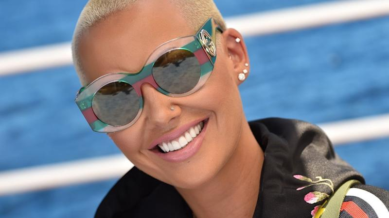 Amber Rose Undergoes Liposuction 6 Weeks After Giving Birth