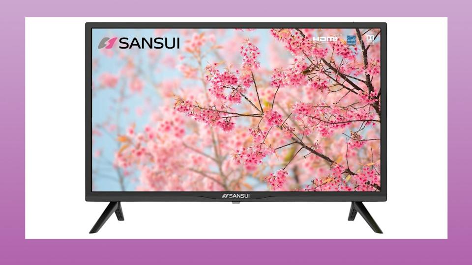 Amazon Canada's Cyber Monday Deals include SANSUI 24 Inch TV 720P Basic S24 LED HD TV High Resolution Flat Screen Television for just $127 (originally $150).