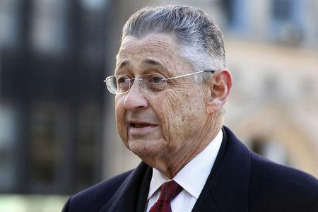 FILE PHOTO: Former New York State Assembly Speaker Sheldon Silver arrives at the Manhattan U.S. District Courthouse in New York, NY, U.S., November 23, 2015.  REUTERS/Brendan McDermid/File Photo