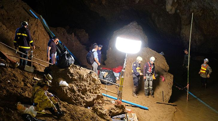 There Are Already Two Thai Cave Rescue Movies in the Works