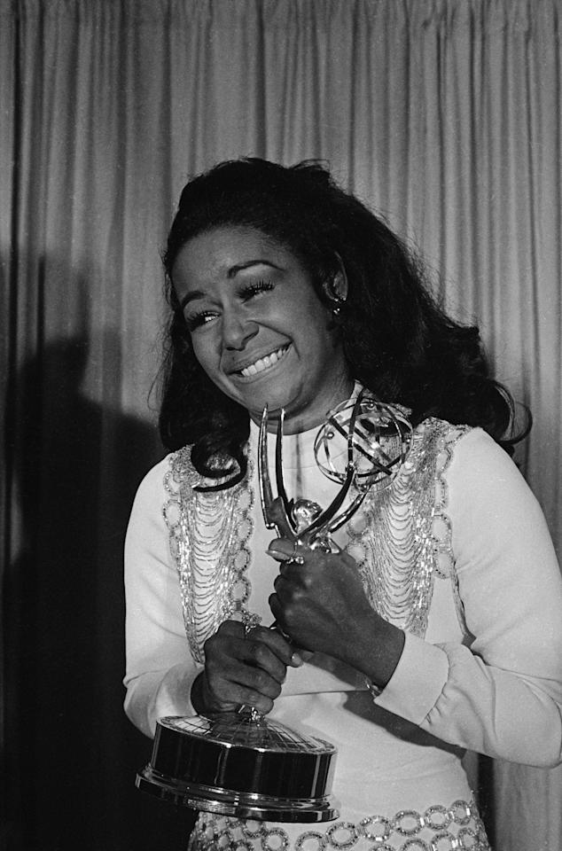 Gail Fisher was the first African American woman to win an Emmy for her role as Peggy Fair on <em>Mannix</em>.