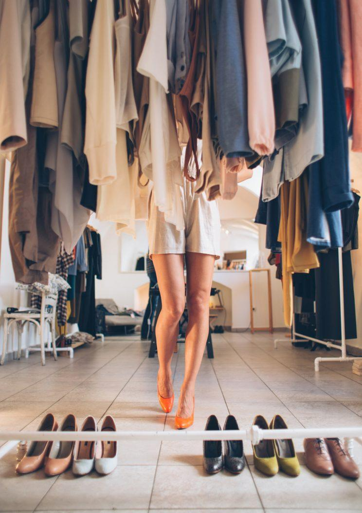 how to stop being obsessed with clothes