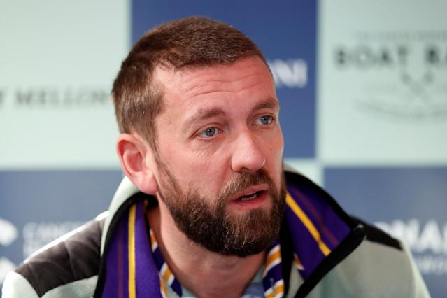 Rowing - 2018 Oxford University vs Cambridge University Boat Race Press Conference - Thames Rowing Club, London, Britain - March 22, 2018 Cambridge chief coach Rob Baker during the press conference Action Images via Reuters/Matthew Childs