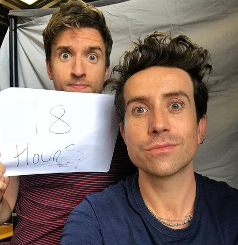 Greg James And Nick Grimshaw Have Been Playing Hide And Seek For Nearly A Whole Day