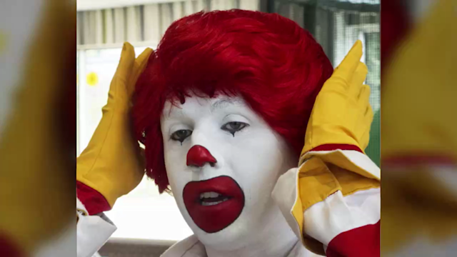 US: Ronald McDonald to refrain from public appearances in the wake of 'creepy clown' sightings