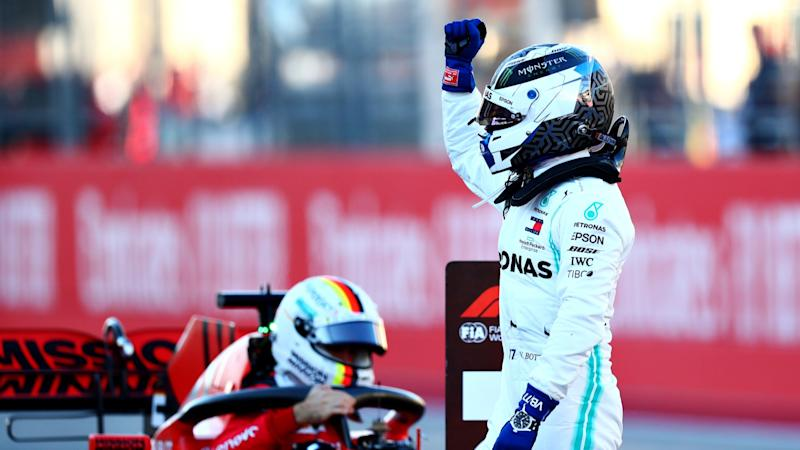 Bottas claims Austin pole with Hamilton to start fifth