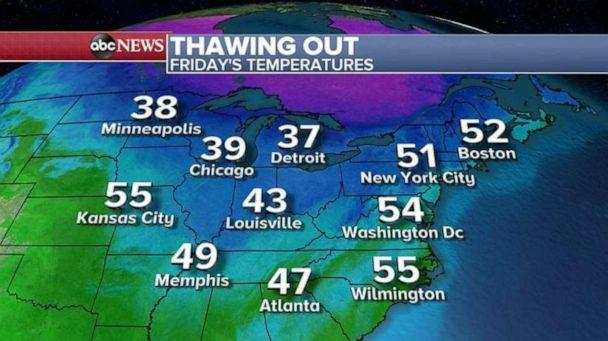 PHOTO: Thawing out (ABC News)