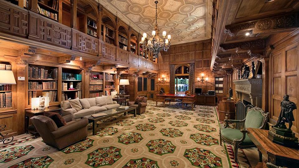 The library - Credit: Photo: Jim Bartsch