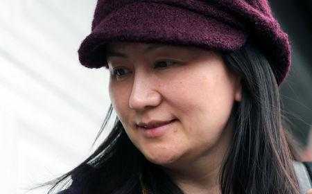 Huawei Technologies Co Chief Financial Officer Meng Wanzhou arrives back at home after her court appearance in Vancouver British Columbia Canada