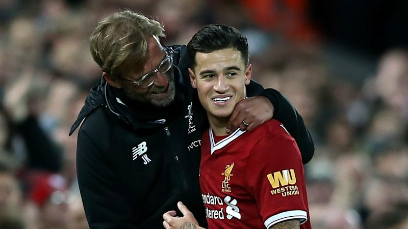 Coutinho reveals Klopp messaged him to tell him what he thought about his move to Bayern