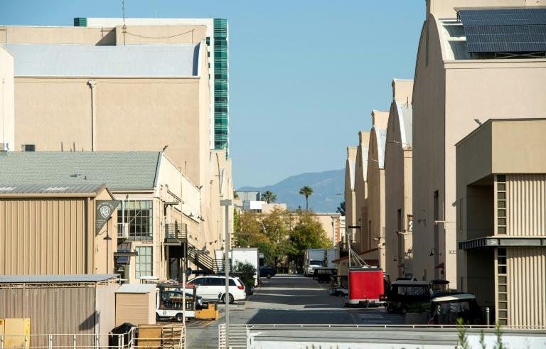 The last strike involving Hollywood film set crew saw violent clashes outside the Warner Bros studio near Los Angeles (AFP/VALERIE MACON)
