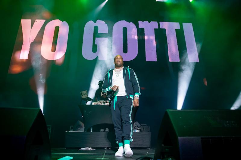 DETROIT, MI - DECEMBER 27: Yo Gotti performs during the WJBL Big Show at Little Caesars Arena on December 27, 2018 in Detroit, Michigan. (Photo by Scott Legato/Getty Images)