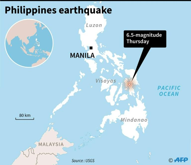 Natural disaster kills 2 in central Philippines