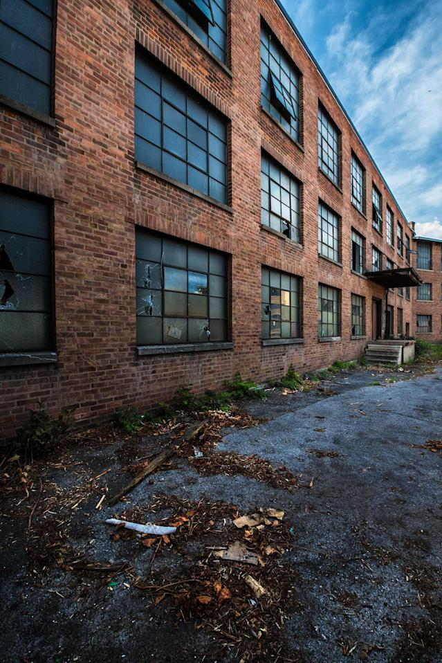 "<p>Shelley said: ""I have two hopes for this exhibit; the first is that it brings awareness to these forgotten structures and encourages people to rethink the idea that the only option for them is demolition."" (Photo: Shelley Koon/Caters News) </p>"
