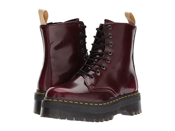 <p><span>Dr. Martens Vegan Jadon II 8-Eye Boot</span> ($180)</p>