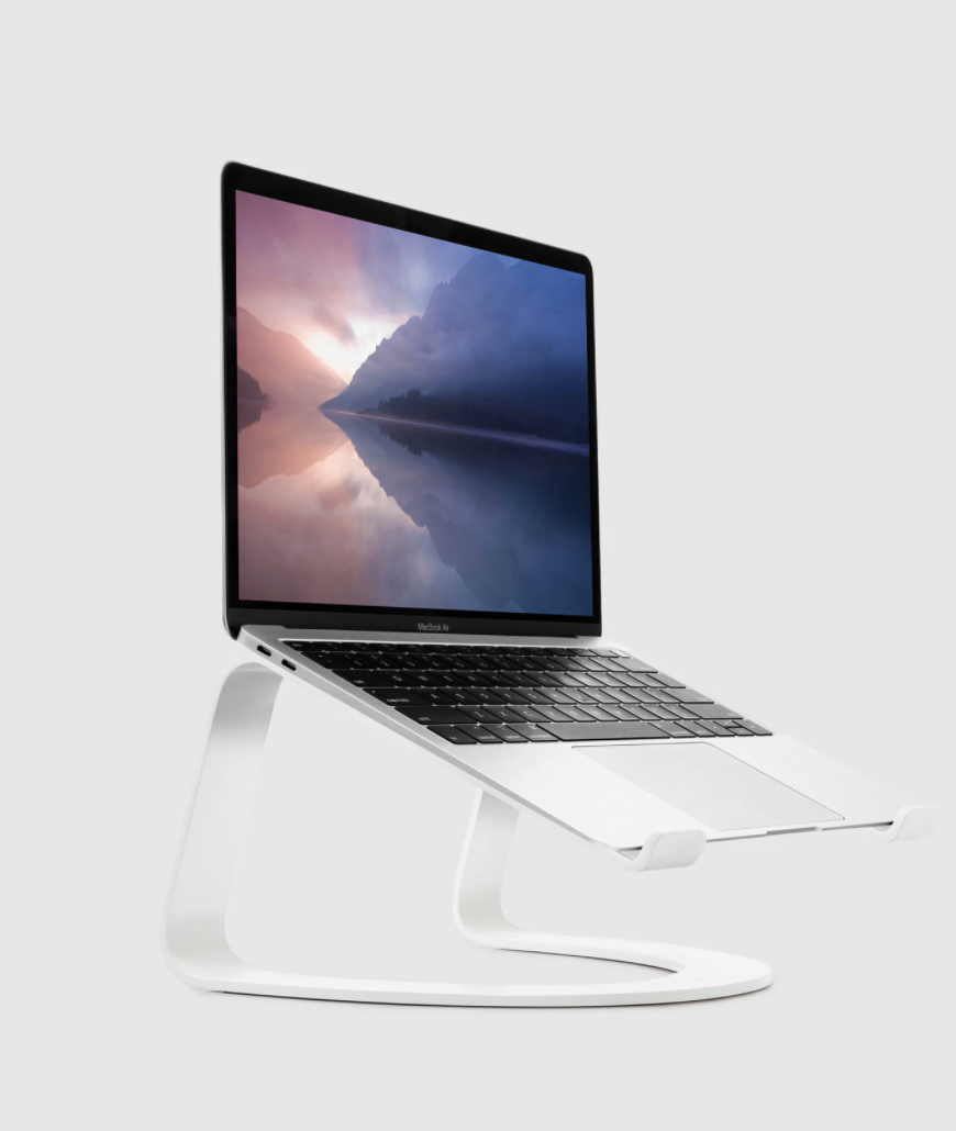 "<h2>Twelve South Curve for MacBooks and Laptops</h2><br><strong>Best For: Design</strong><br>Twelve South delivers, ""some of the most original and unique Apple-compatible products on the market."" This limited-edition matte white stand was crafted to double as an appealing piece of home decor when not in use. <br><br><em>Shop</em> <strong><em><a href=""https://www.verishop.com/brand/twelve-south"" rel=""nofollow noopener"" target=""_blank"" data-ylk=""slk:Twelve South"" class=""link rapid-noclick-resp"">Twelve South</a></em></strong><br><br><strong>Twelve South</strong> Curve for MacBooks and Laptops, $, available at <a href=""https://go.skimresources.com/?id=30283X879131&url=https%3A%2F%2Fwww.verishop.com%2Ftwelve-south%2Fcamera-electronics%2Fcurve-for-macbooks-and-laptops%2Fp4465172119575"" rel=""nofollow noopener"" target=""_blank"" data-ylk=""slk:Verishop"" class=""link rapid-noclick-resp"">Verishop</a>"