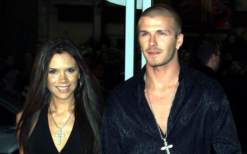 Posh and Becks in their more youthful days - STR Pascal Deschamps/Reuters