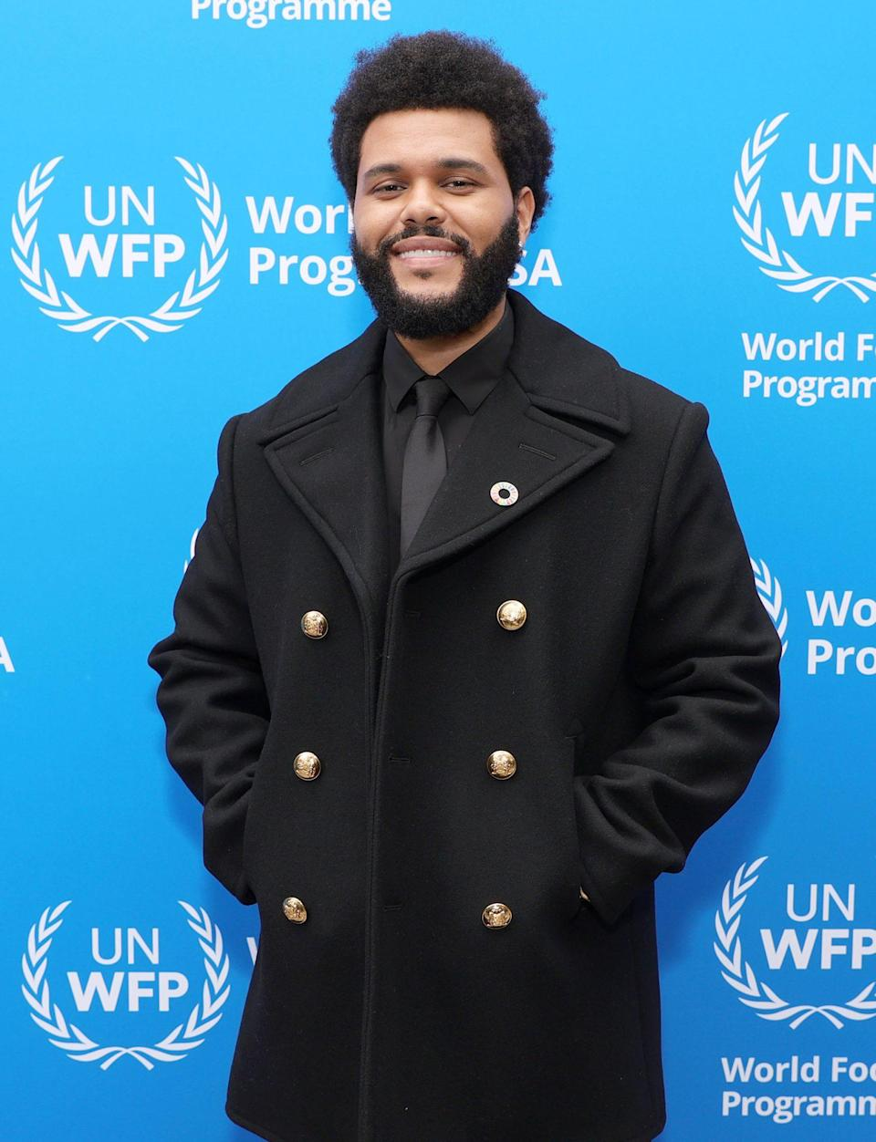 <p>The Weeknd is announced as a Goodwill Ambassador for the U.N. World Food Programme on Oct. 7 in West Hollywood. </p>