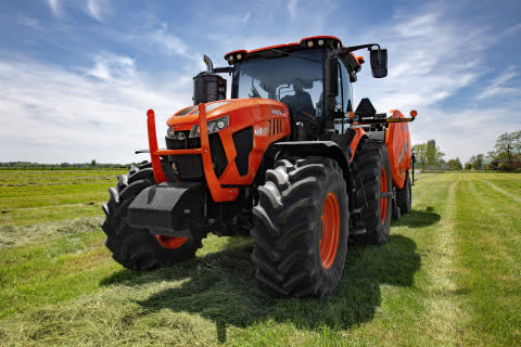 Kubota Unveils the M8 Series Tractor, Its Largest Ag Tractor Ever Built