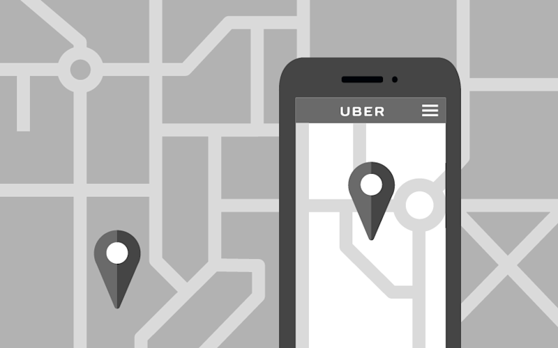 Uber treats its drivers as self-employed, claiming it is merely an intermediary