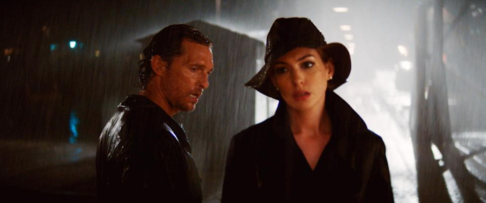 Matthew McConaughey and Anne Hathaway star in <em>Serenity</em>, the movie with the most bonkers plot twist of 2019. (Photo: Aviron Pictures/Courtesy Everett Collection)