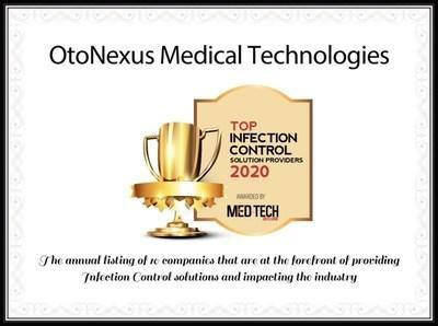 MedTech Outlook Selects OtoNexus as a Top Infection Control Solution Provider for 2020