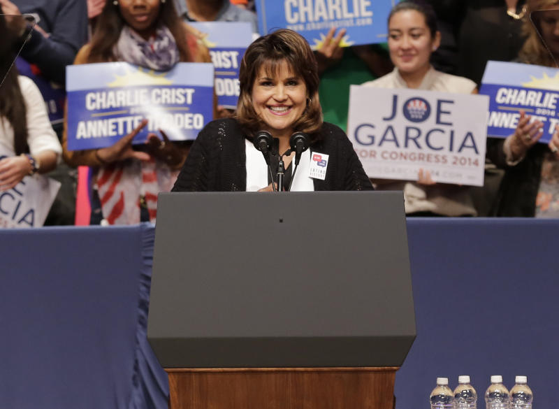 Democrat Annette Taddeo won a special election to represent Florida's 40th state Senate district. (Alexander Tamargo/Getty Images)