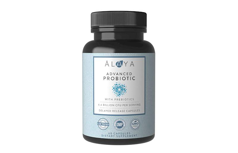 Alaya Naturals - Advanced Probiotic with Prebiotic (Photo: Amazon)