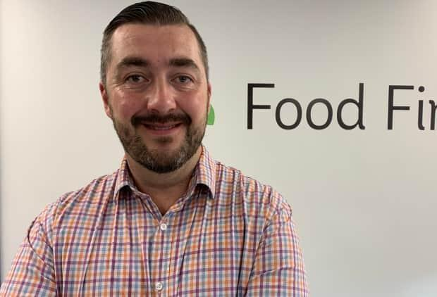 Josh Smee is the CEO of Food First NL, a non-profit organization that operates the Community Food Helpline in partnership with the Jimmy Pratt Foundation.   (Adam Walsh/CBC - image credit)