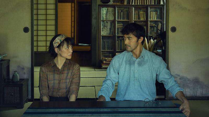 Angelica Lee Sinje and Hiroshi Abe in The Garden Of Evening Mists. (Photo: HBO Asia)