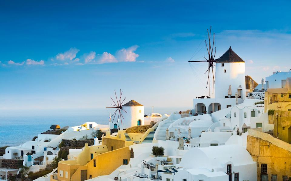 The island is famous for its windmills - Getty