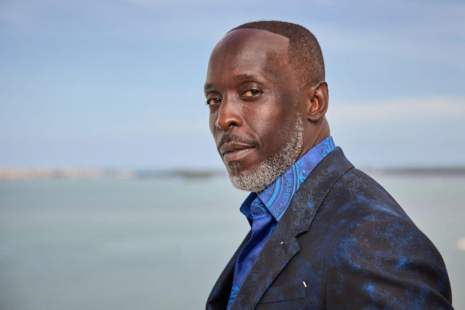An image of Michael K. Williams.