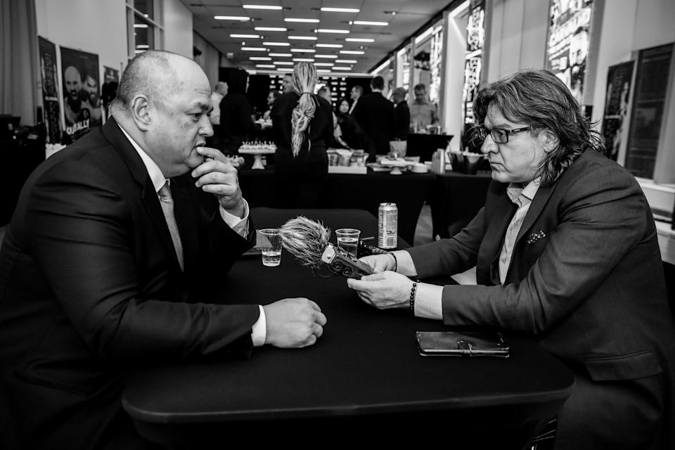 Scott Coker interviewed by Gareth A Davies in New York in March 2020 just days before coronavirus restrictions hit the world  - Lucas Noonan/Bellator MMA