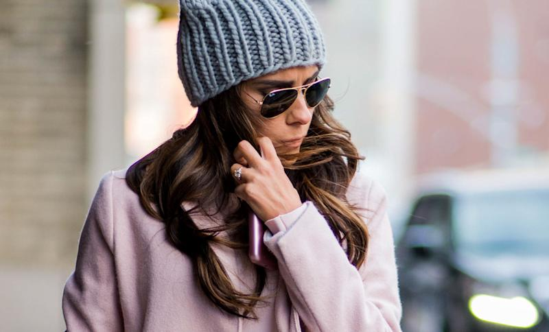 Winter weather cansuck the moisture out of your strands, making them more susceptible to breakage.