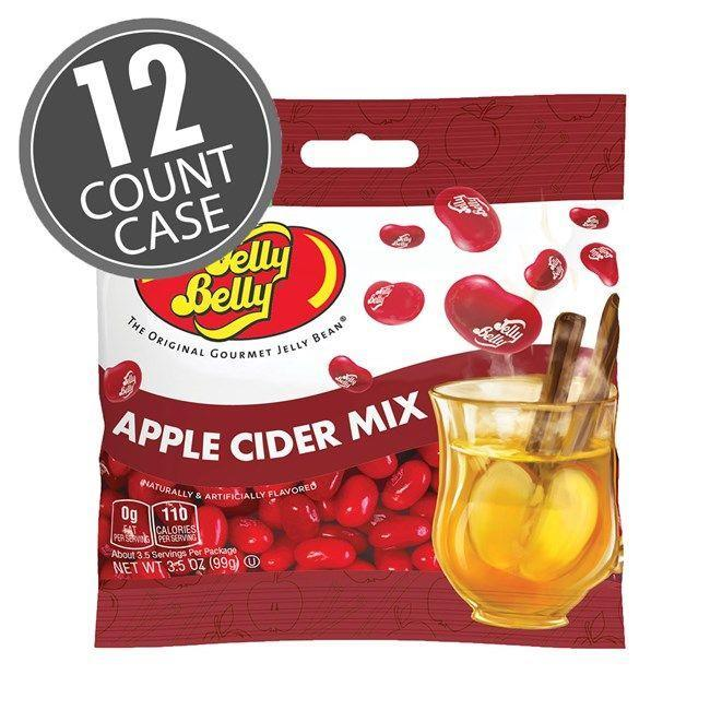"""<p><strong>Apple</strong></p><p>jellybelly.com</p><p><strong>$29.99</strong></p><p><a href=""""https://go.redirectingat.com?id=74968X1596630&url=https%3A%2F%2Fwww.jellybelly.com%2Fapple-cider-mix-jelly-beans-3.5-oz-grab-go-bag-12-count-case%2Fp%2F66131&sref=https%3A%2F%2Fwww.delish.com%2Ffood-news%2Fg22727687%2Ffall-foods-drinks-flavors%2F"""" rel=""""nofollow noopener"""" target=""""_blank"""" data-ylk=""""slk:Shop Now"""" class=""""link rapid-noclick-resp"""">Shop Now</a></p><p>Your second-favorite fall hot drink now comes in bite-sized pieces for on-the-go snacking.</p>"""