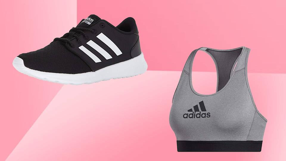 Love Adidas sneakers? They're on sale for Amazon Prime Day, along with  comfy clothes from the label. (Photo: Amazon)