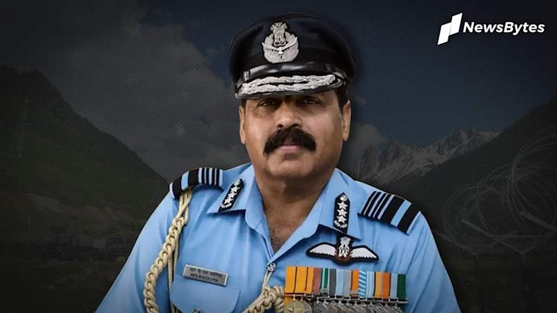 Prepared for airstrike against China: IAF Chief amid LAC tensions