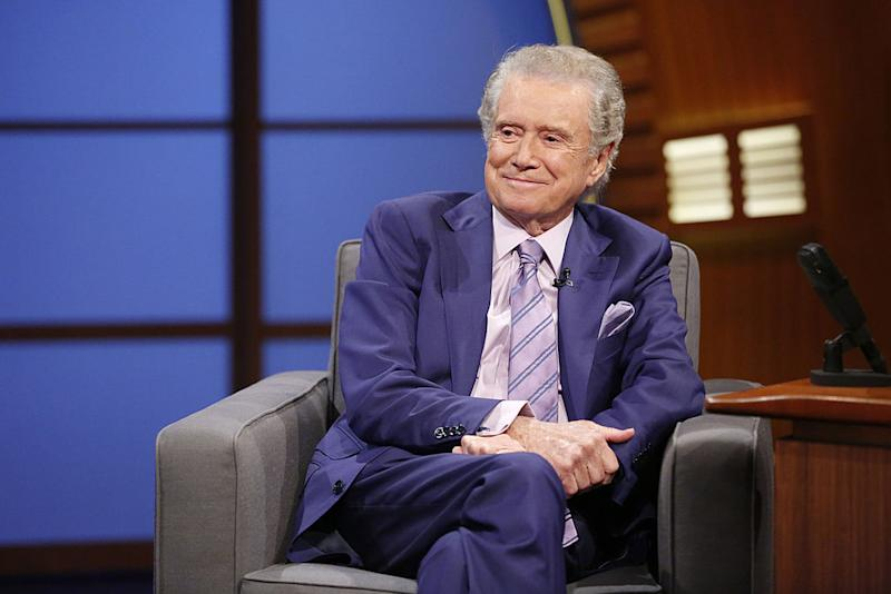 Regis Philbin died Friday at 88. (Photo: Lloyd Bishop/NBC)
