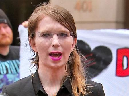 Chelsea Manning is headed back to the slammer