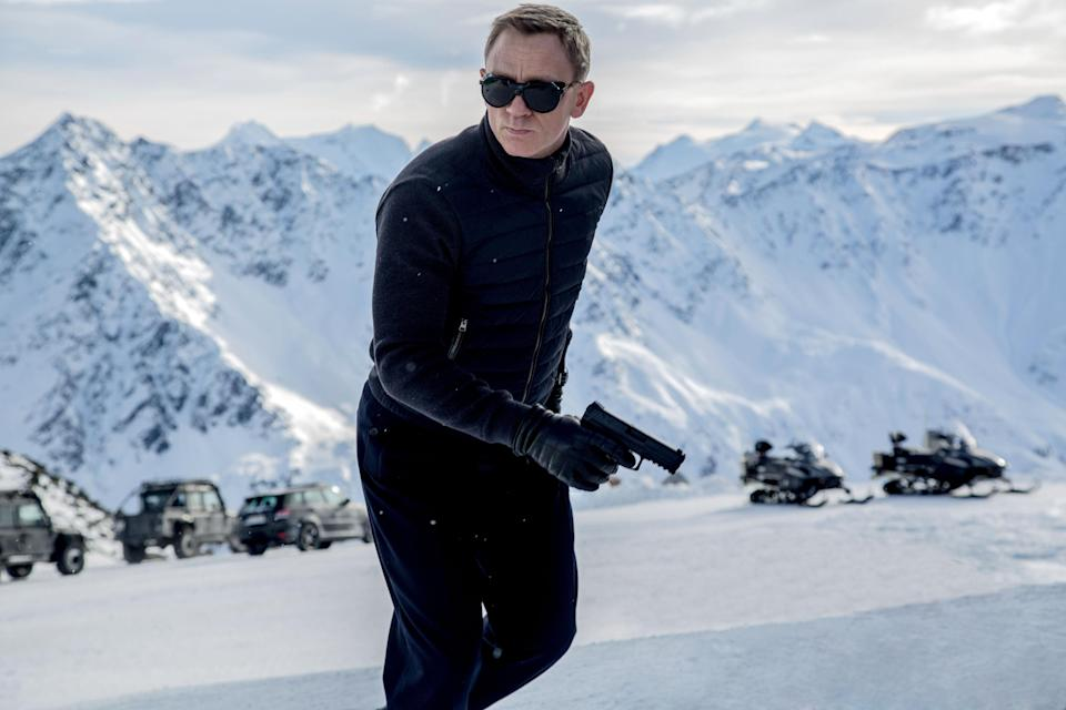 "In this image released by Metro-Goldwyn-Mayer Pictures/Columbia Pictures/EON Productions, Daniel Craig appears in a scene from the James Bond film, ""Spectre."" (Jonathan Olley/Metro-Goldwyn-Mayer Pictures/Columbia Pictures/EON Productions via AP)"