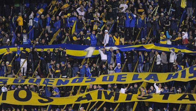 <p>Boca Juniors, one of the biggest clubs in Argentina, play at the Estadio Alberto J. Armando, widely known as La Bombonera, which holds 49,000 supporters.</p> <br><p>It's main drawing point is the amazing acoustic atmosphere it creates thanks to three of the stands being practically vertical.</p> <br><p>The stands constantly look as though they're about to collapse but help create an amazing noise inside the stadium.</p>