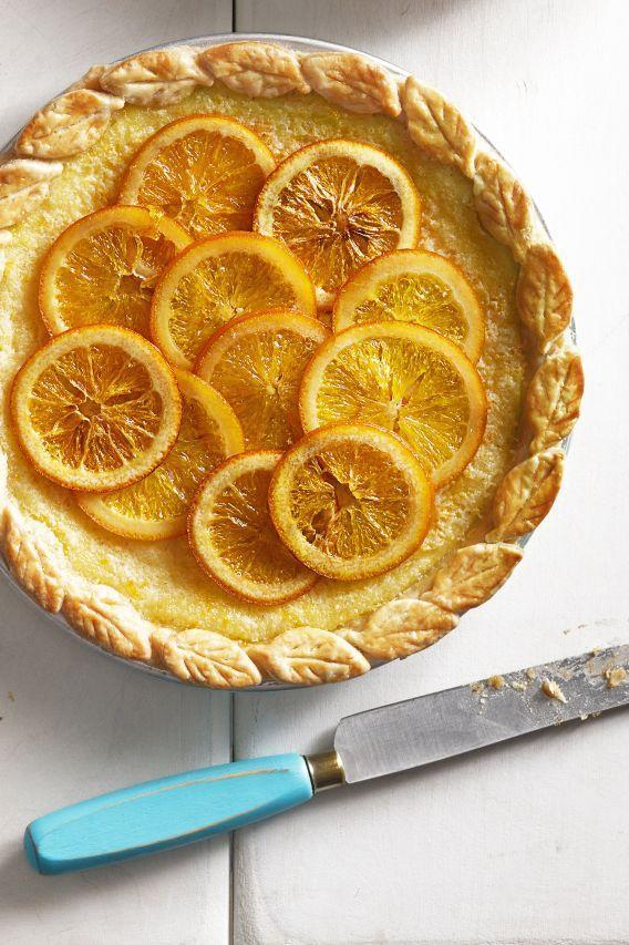 "<p>Celebrate everyone's favorite spring flavor — citrus! — with this simple pie that combines candied orange slices with buttermilk filling. </p><p><em><a href=""https://www.goodhousekeeping.com/food-recipes/a15959/orange-buttermilk-chess-pie-recipe-clx0914/"" rel=""nofollow noopener"" target=""_blank"" data-ylk=""slk:Get the recipe for Orange-Buttermilk Chess Pie »"" class=""link rapid-noclick-resp"">Get the recipe for Orange-Buttermilk Chess Pie »</a></em></p><p><strong>RELATED</strong>: <a href=""https://www.goodhousekeeping.com/food-recipes/dessert/g5084/easter-pies/"" rel=""nofollow noopener"" target=""_blank"" data-ylk=""slk:27 Easy and Delicious Easter Pies That Your Party Guests Will Love"" class=""link rapid-noclick-resp"">27 Easy and Delicious Easter Pies That Your Party Guests Will Love</a></p>"