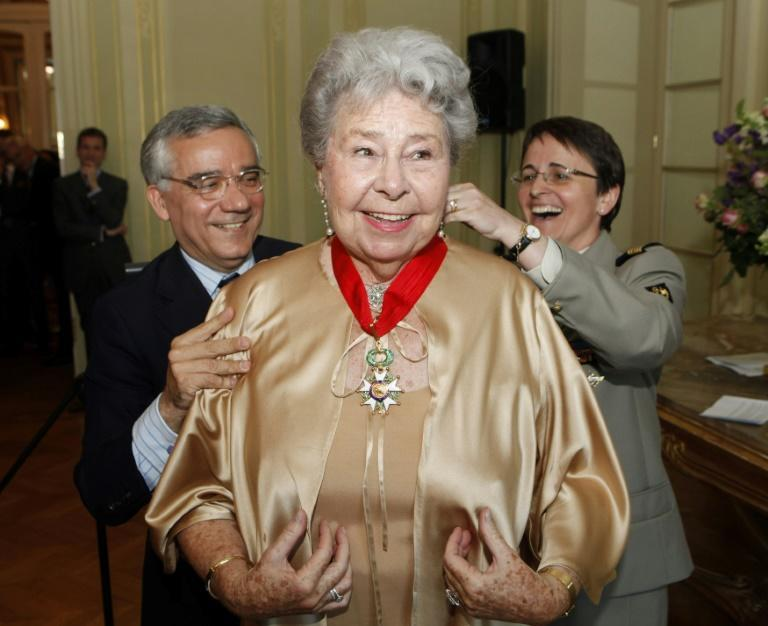 Christa Ludwig was awarded France's Legion d'Honneur in 2010