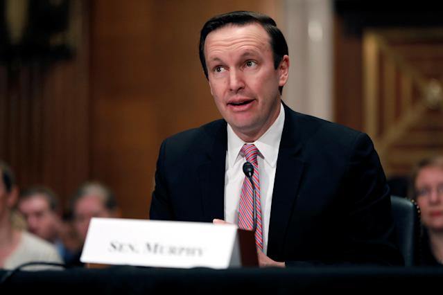 Sen. Chris Murphy (D-Conn.) is a member of the Senate Committee on Foreign Relations. (Aaron Bernstein / Reuters)