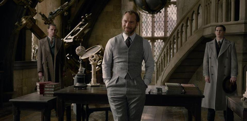 People are swooning over Dumbledore